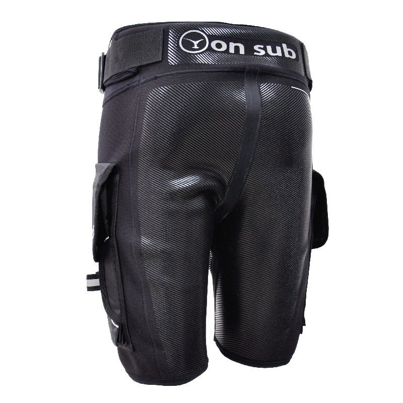Diving Shorts Snorkeling Canoeing DivingSuits Side Pockets Waistband Wetsuits Surfing Kayaking Tech Scuba Shorts kayak suit