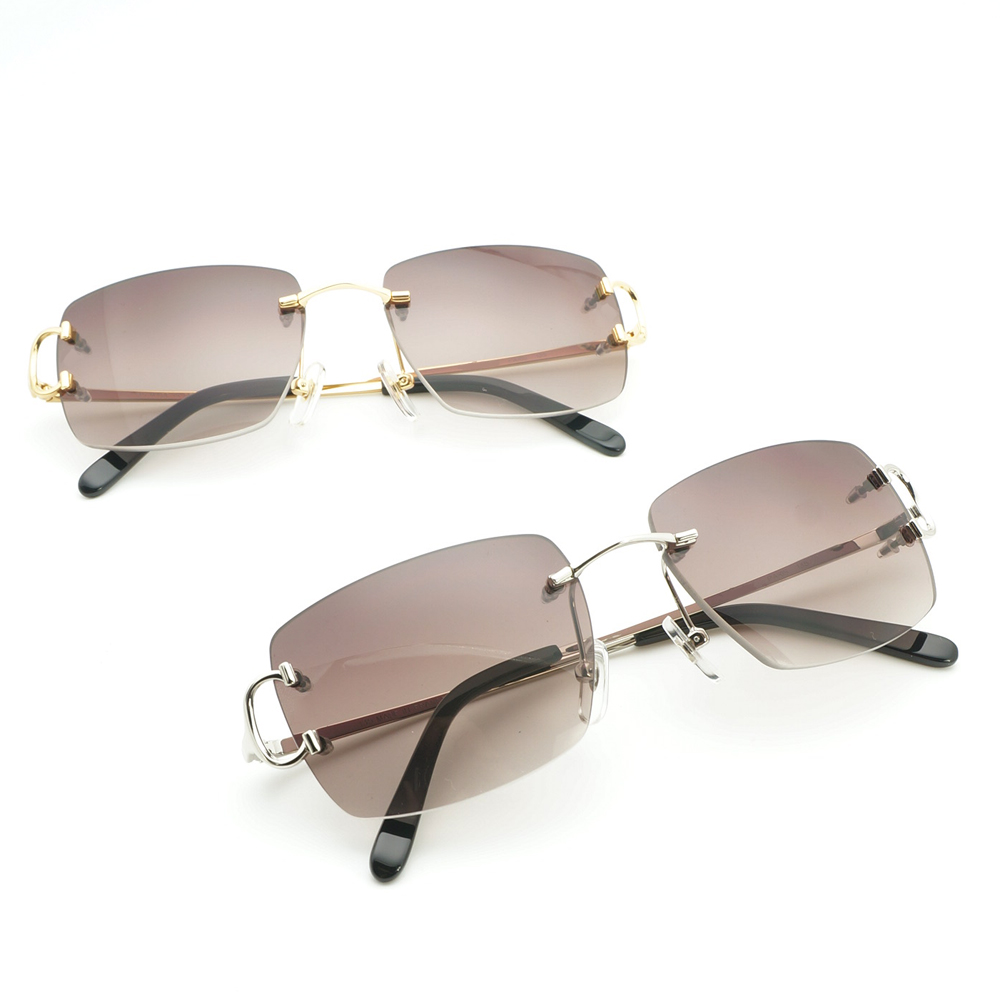 Vintage carré rouge lunettes de soleil hommes Carter Glassses cadre pour femmes mode lunettes de soleil pour hommes spécial gros accessoires