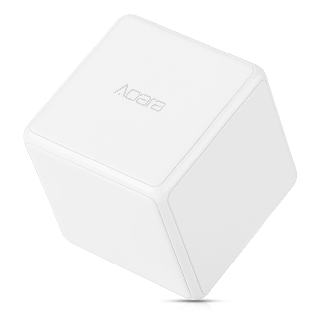 Xiaomi AQara Magic Cube Controller Smart Home 6 Actions Mini Device Zigbee Version Wireless Connection Work With Mijia Home App
