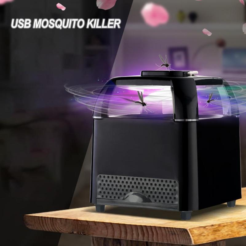Photocatalyst USB Electric Mosquito Killer Lamp Anti Fly Mosquito Trap Bug Zapper Indoor Outdoor Mosquito Killer Lamp Light