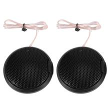 1 Pair Tweeter Car Speakers 105dB 20W Auto Audio