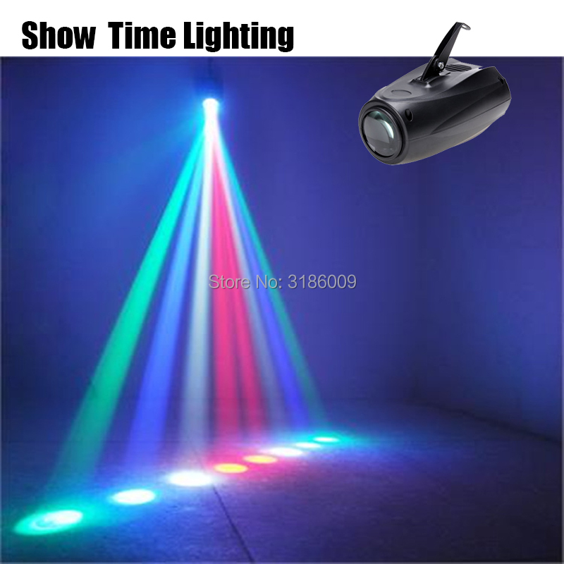 Show Time LED Moonflower Effect Light Small Airship Manual 64RGBW Color Changing 10W Led Magic Parrtern Project For KTV Club Bar