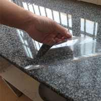 45*70cm Kitchen Cabinet Wall Sticker Anti-oil Waterproof Transparent Sticker Furniture Protection Vinyl PVC Wall Paper Stickers