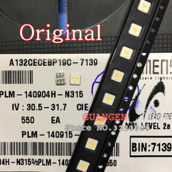 ORIGINAL 200PCS LUMENS LED Backlight Flip-Chip LED 2.4W 3V 3535 Cool white 153LM For SAMSUNG LED LCD Backlight TV Application