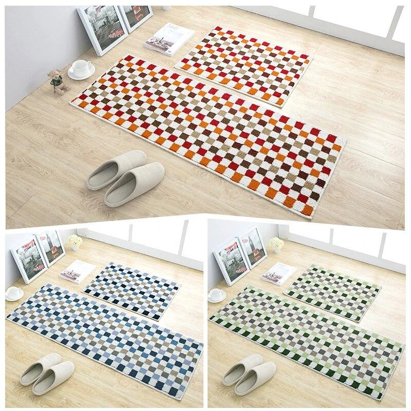 Non Skid Hallway Carpet Entry Rugs Water Absorbent Door Floor Mat For Shower Bathroom Soft Kitchen Runner Mats Mat Aliexpress
