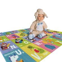 150*80 см детский игровой Мат Коврик для ползания Противоскользящий ковер для детей коврик рисунок графические буквы развивающий коврик для детей игровой коврик