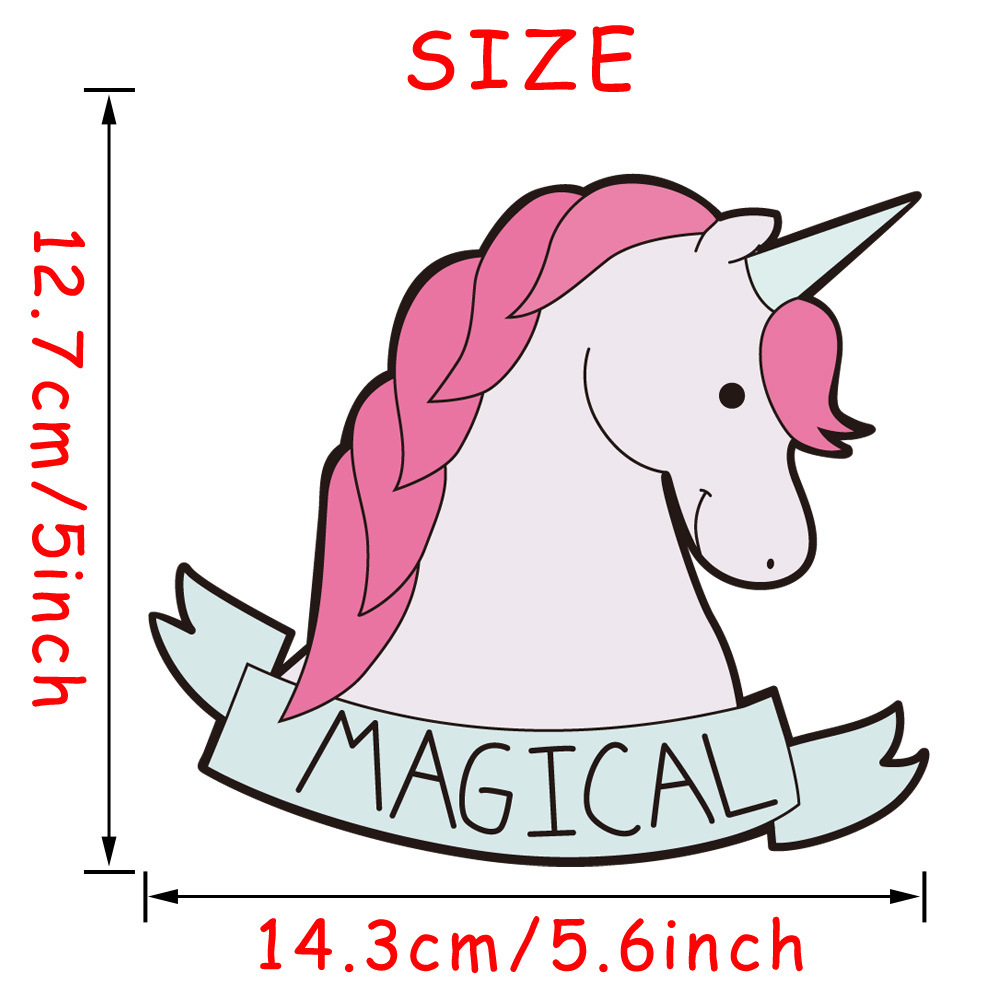 Image 3 - Car Sticker Magic Creative Unicorn Cartoon Car Sticker AliExpress Sale Hot Selling Body Notebook Sticker-in Car Stickers from Automobiles & Motorcycles
