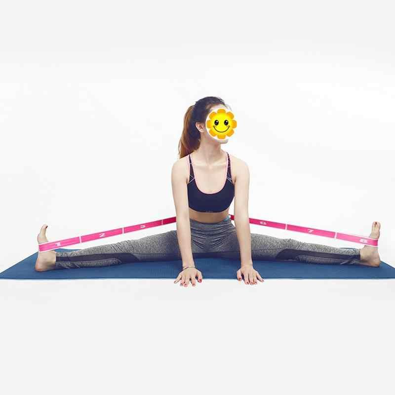 Йога Тяговая нейлоновый латекс Многоуровневая установка силы спортзал для йоги и пилатеса резинка для фитнеса упражнений многофункциональная эластичная лента