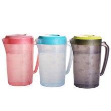 BPA-Free кувшин для воды большой емкости вместо чайника для воды кувшин для напитков домашний кухонный пластиковый контейнер для холодной воды 2.2л