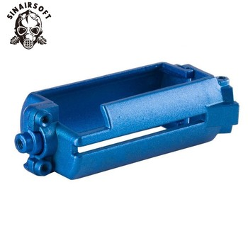 Taktik alüminyum mavi AK 47/74 serisi Motor tabanı çerçeve montaj için AEG Airsoft Paintball avcılık aksesuarları
