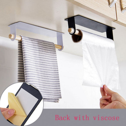 Towel Bar Holder Over The Kitchen Cabinet Cupboard Door Shelf Rack Hanging