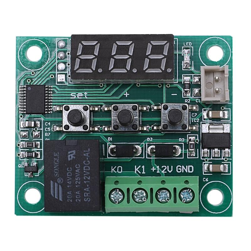 Tragbares Audio & Video Unterhaltungselektronik 2 Stücke 12 V Dc Digitale Temperatur Controller Board Micro-digitale Thermostat-50-110 °c Elektronische Temperatur Temp Control Modul