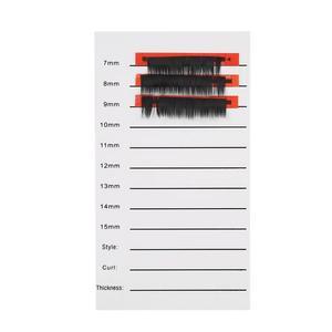Image 1 - Nouveau support de plaque de main dextension de cils individuels Palette de bandes de plateau de cils 14mm 15mm outil de maquillage de beauté de cils acrylique