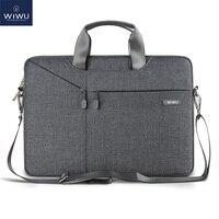 WiWU pochette d'ordinateur Cas 15.6 15.4 14.1 13.3 17.3 sacs de postier pour MacBook Air 13 Cas carnet étanche sac pour MacBook Pro 15