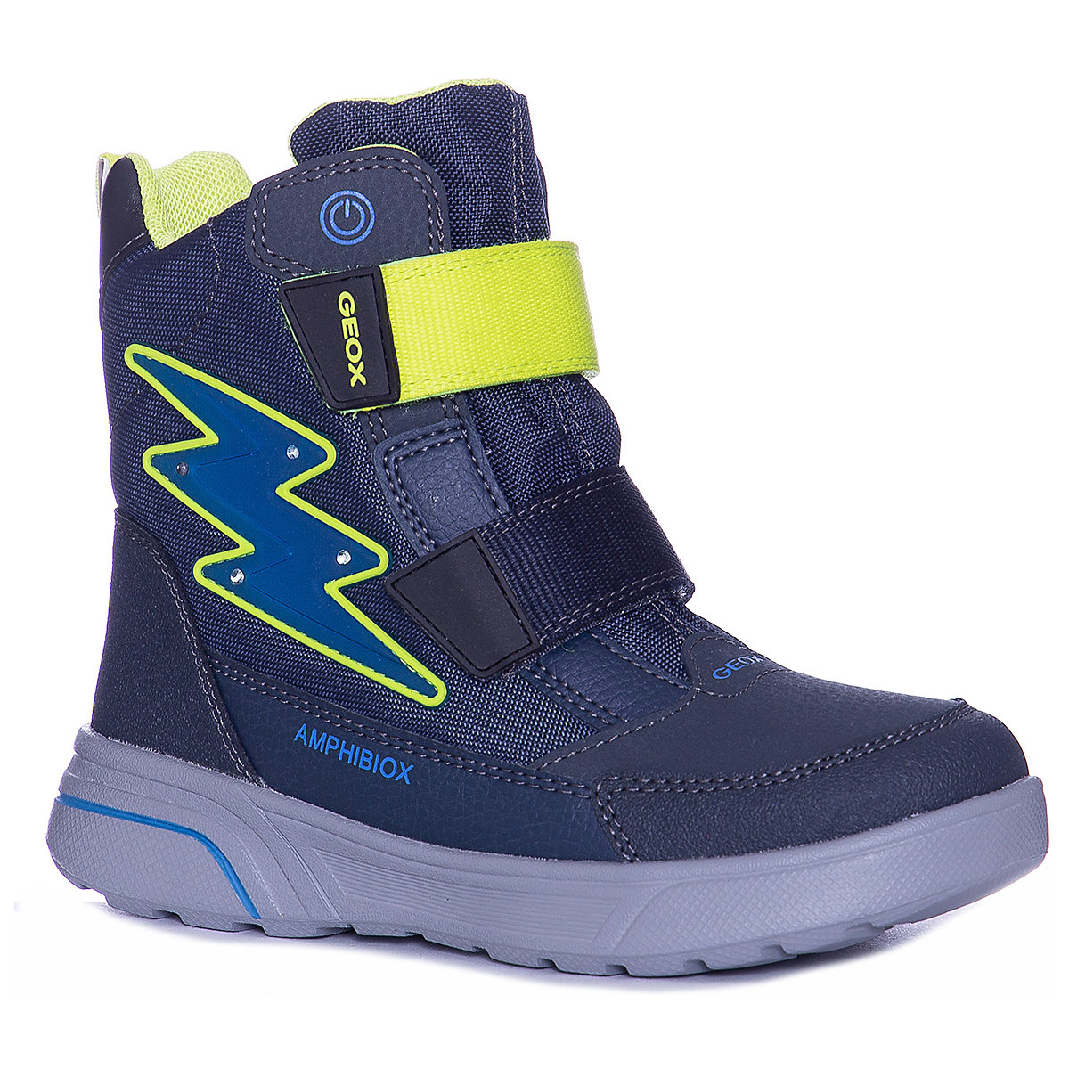 GEOX Boots 8786523 baby shoes For boy faux fur Winter цена в Москве и Питере