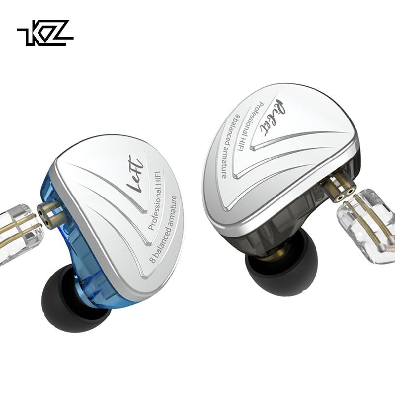 KZ AS16 Headset 16BA Balanced Armature Units HIFI Bass In Ear Monitor Earphones Noise Cancelling Earbuds