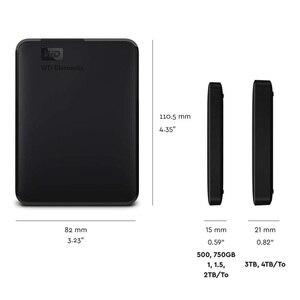 Image 5 - WD العناصر المحمولة قرص صلب خارجي القرص HD 1 تيرا بايت 2 تيرا بايت عالية السعة SATA USB 3.0 جهاز تخزين الأصلي للكمبيوتر المحمول