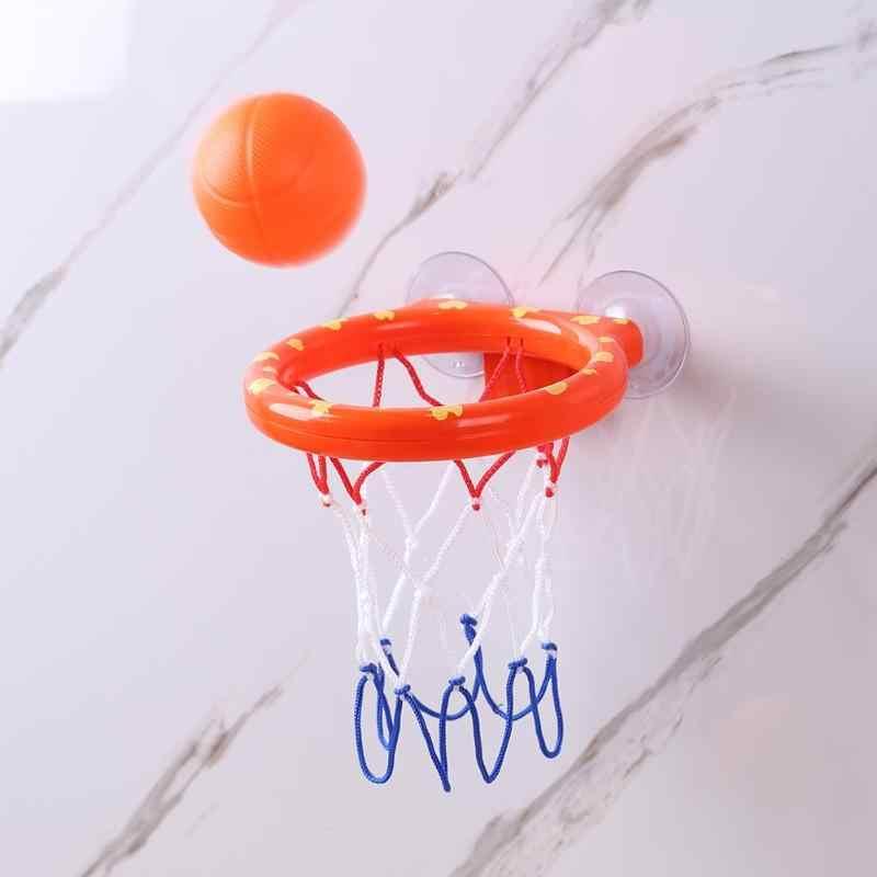 Детский Баскетбол кольца ванна воды игровой набор игрушки для купания малыша детские развивающие мини-подарок пены Пляж Бассейн бани-игровой