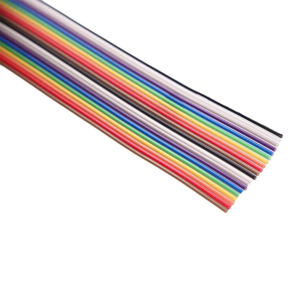 5 M 1.27mm 20 P דופונט כבל קשת שטוח קו תמיכה חוט מולחם כבל מחבר חוט 20 פין עבור arduino Diy קיט