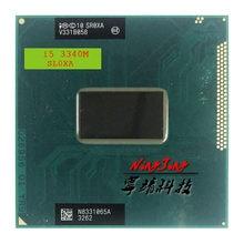 Процессор Intel Core i5 3340M SR0XA, двухъядерный процессор с четырехъядерным процессором 2,7 ГГц, 3 м, 35 Вт, разъем G2 / rPGA988B