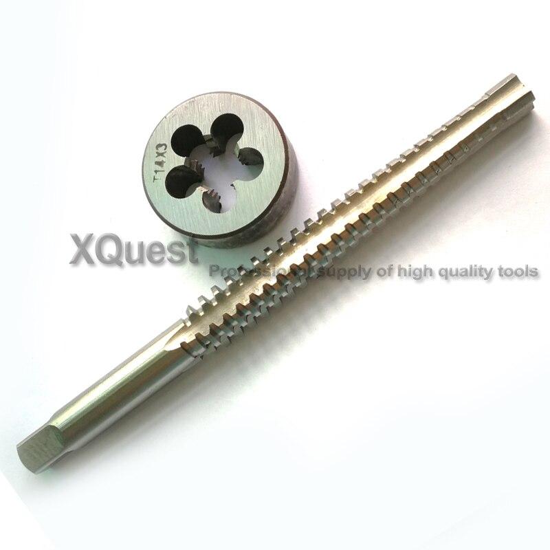High Quality TR16 x 4 Trapezoidal Metric HSS Left Hand Thread Tap