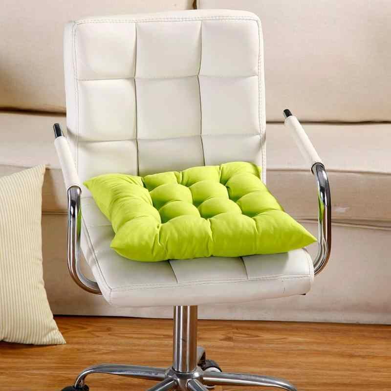 Home Office Decoração Algodão Inverno Almofada Do Assento Confortável Bar Escritório Cadeira para Trás Do Assento Almofadas Sofá Travesseiro Cadeira Almofada Nádegas