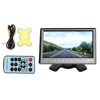 Professional Reversing Camera Rearview Monitor 7 Inch 4 Split Screen Car Monitor 4 Channels LCD Display DC 12V