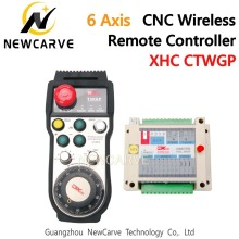 XHC CNC Wireless Remote Controller Pendant FANUC /MPG Manual Pulse Generator ATWGP CTWGP For 6 Axis CNC Router NEWCARVE fanuc a860 0203 t001 encoder mpg pulse generator electronic handwheel original authentic hand pulse generator a860 0203 t001