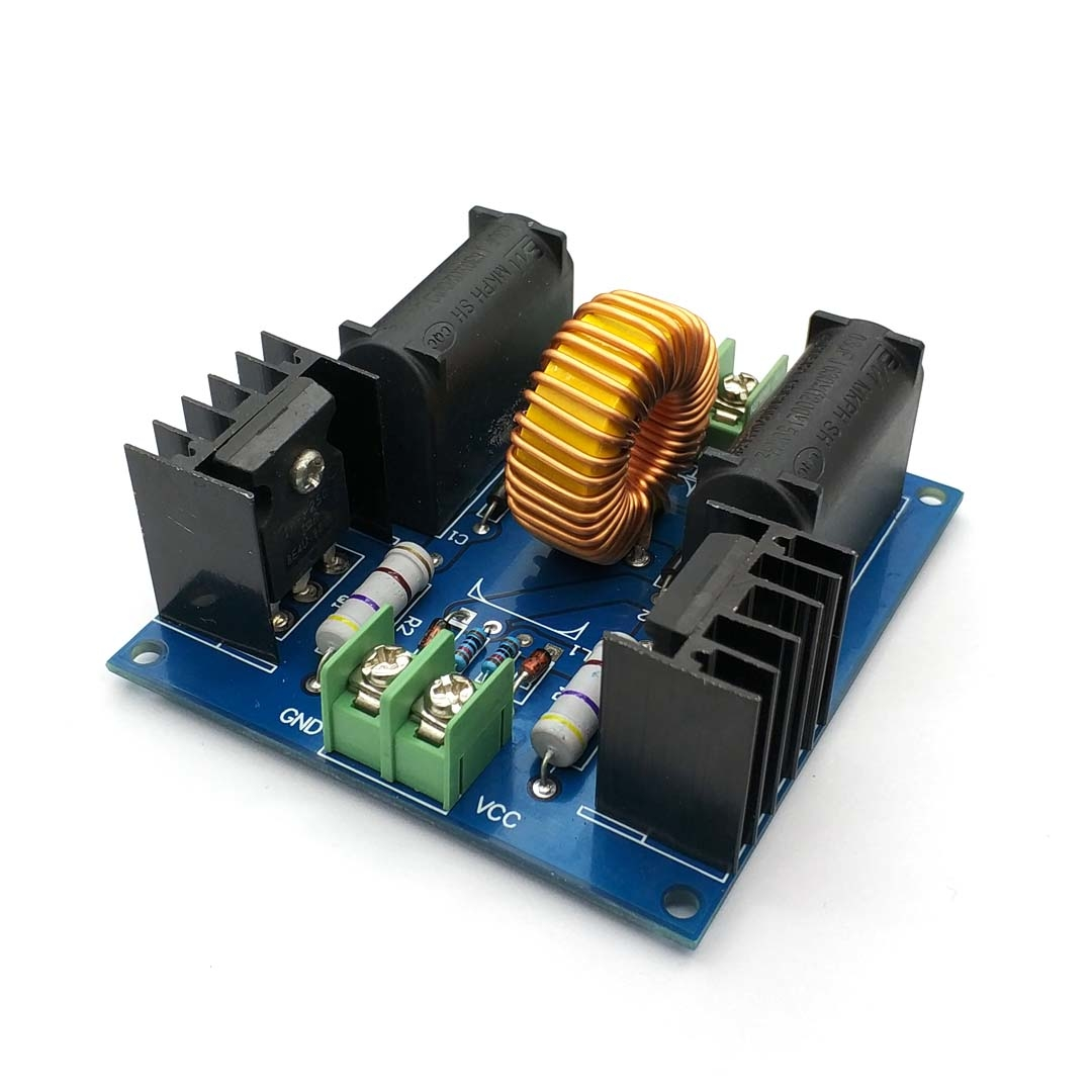 12V 300W ZVS Tesla Coil Driver Genrator Board High Voltage Discharge Flyback Generate Module Long Arc 10A