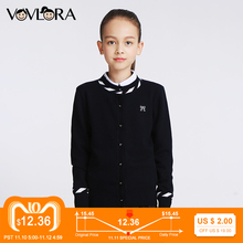 Girls Cardigan Sweaters Knitted O neck Casual Kids Cardigans School Single Breasted Children Clothes 2018 Size