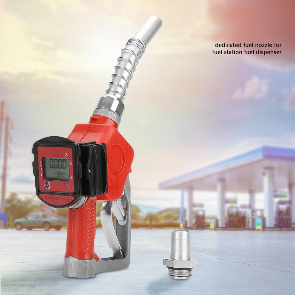 Digital Fuel Oil Diesel Injector Kerosene Gasoline Nozzle Gun Fueling Nozzle Adaptor Fuel Tester Rail Adaptor