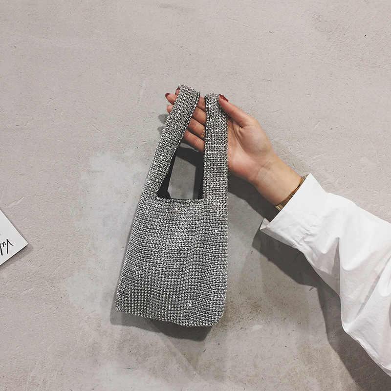 5acd7c66b7 Thank You Diamond Beach Woman Bag Handbag Rhinestone Ladies 2019 New Luxury  Purses And Handbags Women Bags Designer High Quality