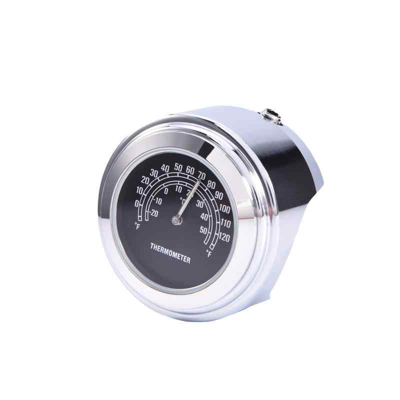 Practical Motorcycle Clock Thermometer Instruments Unversal Motorcycle Accessories & Parts for Harley Davidson Motor