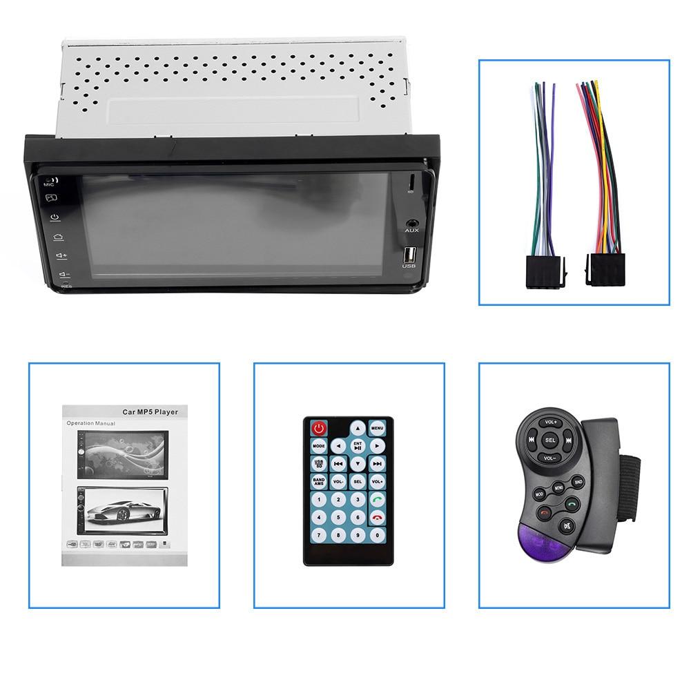 Auto Multimedia-player 7 Zoll 2 Din Auto Stereo Radio Usb Auto Bluetooth Mp3 Mp4 Mp5 Für Toyota Corolla 20x10 Cm Aux-in/fm Letzter Stil Mp4 Player