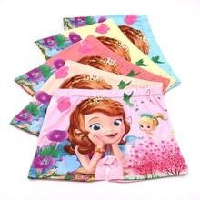 3pcs/lot Children Girls Kids Baby Underwear Underpants Cotton Printing Princess Cartoon Girl Panties Panty Briefs