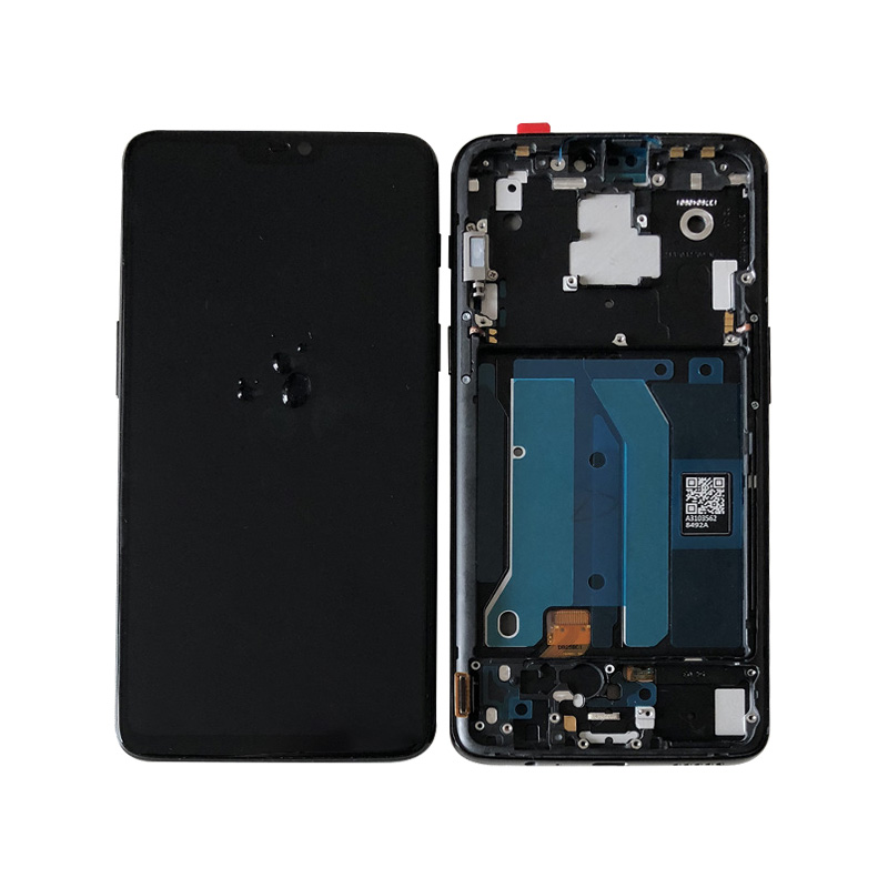 "Image 2 - Original M&Sen For 6.28"" OnePlus 6 Oneplus 6 One Plus 6 Super Amoled LCD Display Screen+Touch Panel Digitizer Frame Replacement-in Mobile Phone LCD Screens from Cellphones & Telecommunications"
