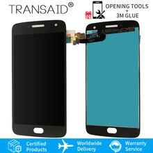 XT1684 XT1685 XT1687 ЖК-дисплей дигитайзер сенсорный экран сборка Замена для Motorola MOTO G5 плюс экран