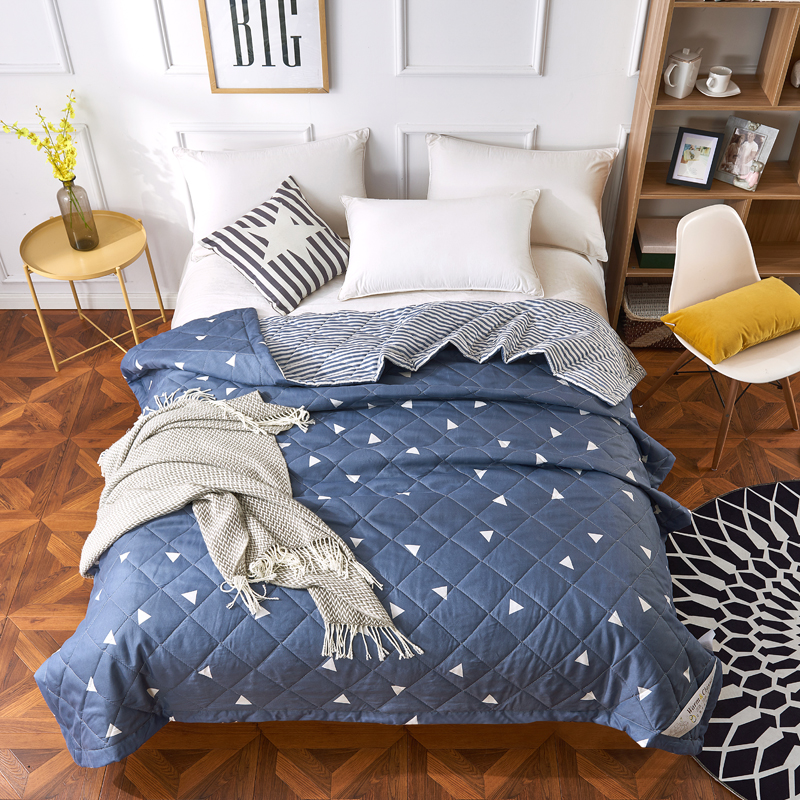 2018 Summer Quilt For Double Single Bed Duvet <font><b>150*200</b></font> 200*230 Blanket Comforters Bedspread Bed Cover Quilting Home Textiles36 image
