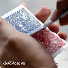 Новая Хромосома(трюк+ онлайн инструкция)-крупным планом фокусы, удивительные иллюзии реквизит, ученик Иллюзия волшебника, Magic Acces