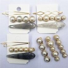 Fashion High Quality Romantic Pearl Women Hair Clips Barrette Girls Hairpin Bangs Clip Accessories Headdress
