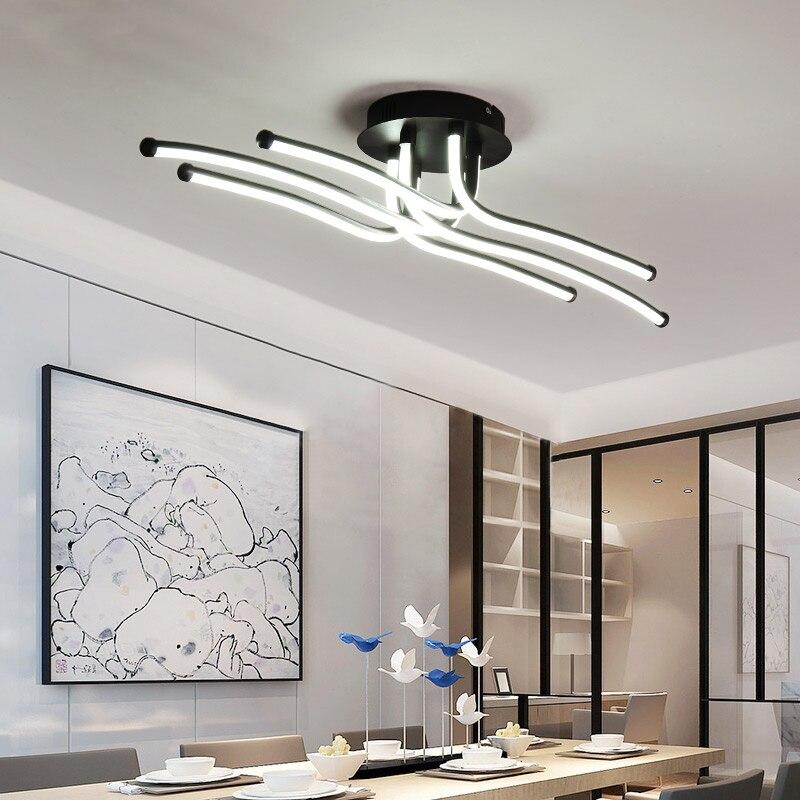 Nowoczesne lampy sufitowe led kreatywny kubek do kawy z minimalizm lampa do salonu sypialnia oprawy oświetleniowe do domu aluminiowa lampa sufitowa