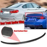 Высокое качество Настоящее углеродного волокна заднего Багажник на крыше спойлер крыло для BMW F36 428i 430i 435i 440i Gran для Coupe 2014 2018 4 двери