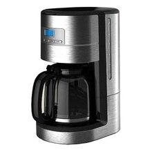 Кофеварка GEMLUX GL-DCM-3 (Мощность 900 Вт, объем 1.8 л, капельная, многоразовый нейлоновый фильтр, подогрев готового напитка до 2 ч, ЖК-дисплей, отложенный старт на 24 часа)