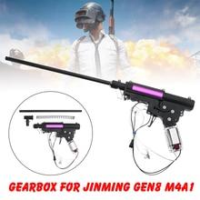 Upgrade Nylon Gearbox Accessories For JinMing Gen8 M4 M4A1 Gel Ball Toy Chirldren DIY Toy