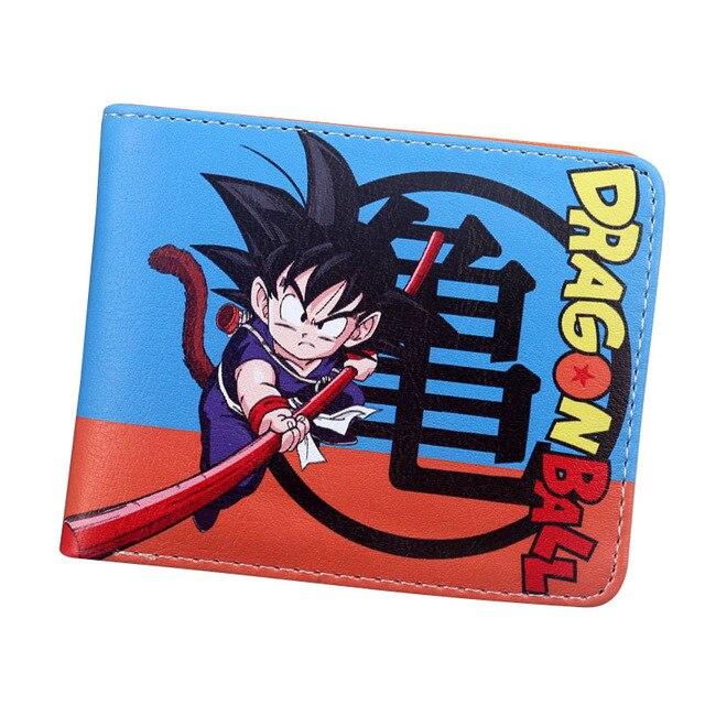 Japão anime Dragon Ball Super carteiras fresco Dragon Ball crianças carteira bolsa titular do cartão de jogo do brinquedo presente dos desenhos animados carteira