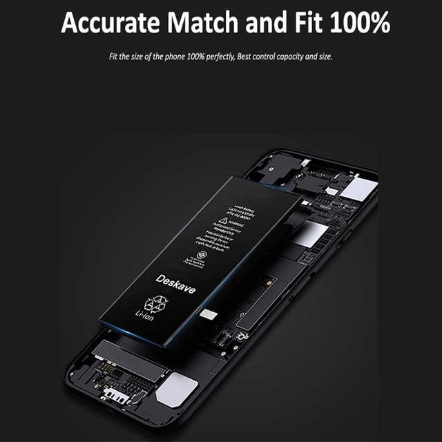 Mobile Phone Battery For iPhone 5s 6 7 8 Replacement Batterie Internal Bateria Hihg Capacity For iPhone 6 6S Plus Battery
