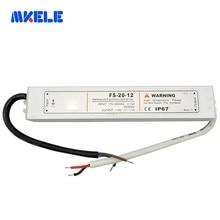 Schaltnetzteil Wasserdichte IP67 5v 12V 24V 48v Led-treiber AC DC 110V/220V IP67 20W Led-treiber Transformator