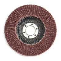 HLZS 50 x 4inch 100mm Flap Sanding Discs Grinding Wheels 60 Grit for Angle Grinder