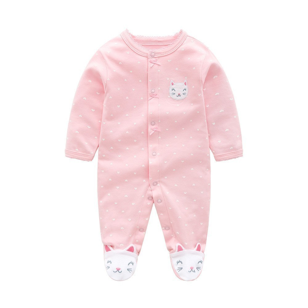 Winter Baby Girl Clothes Cotton Baby   Rompers   Spring Baby Boy Clothes LetterNewborn Baby Clothes Roupas Bebe Infant Jumpsuits