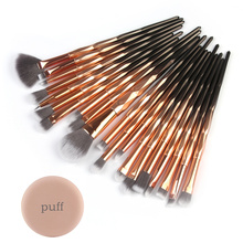 New 20pcs/set Makeup Brushes Sets Kit Lip Foundation Powder Brow Eyeliner Eye Shadow Cosmetic Make Up Brush Beauty Tool цена в Москве и Питере